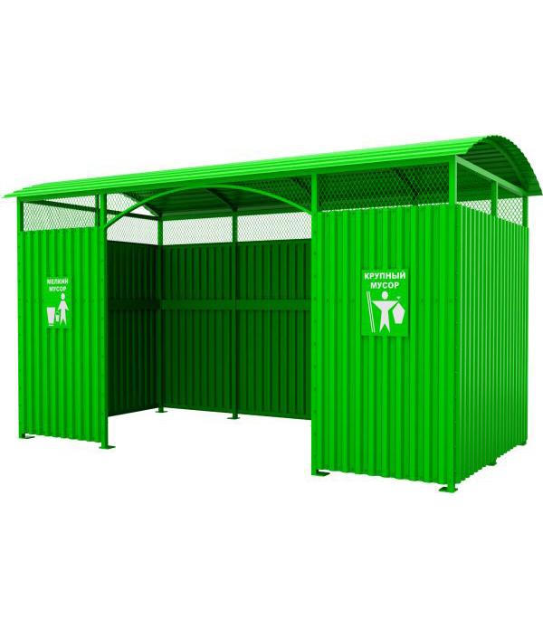 Навес для контейнеров КМ-010