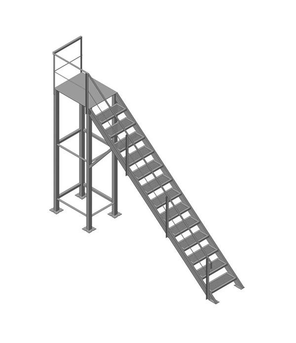 Лестница ЛМ-005