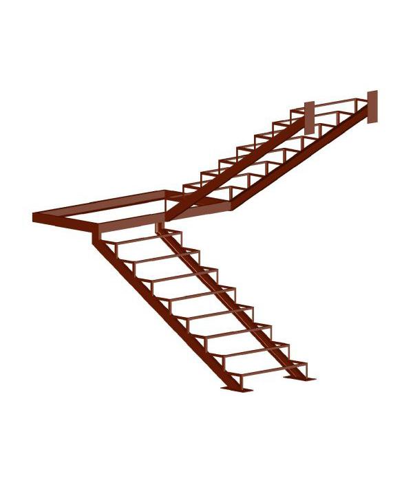 Каркас лестницы  ЛМ-006