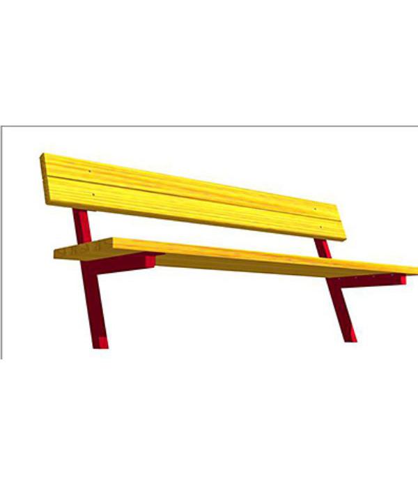Скамейка парковая СК-014